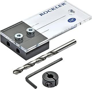 Rockler 1/4'' Dowel Drilling Jig Kit