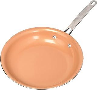 Kyonne Cobre Sartenes Antiadherentes con Revestimiento de cerámica y Cocina de inducción, Cocina Aptos para