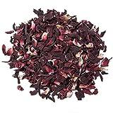 Aromas de Té - Infusión de Hibisco con Alto Poder Digestivo y Antitusivo/Infusión Hibiscus de Jaimaica para el Cuidado de la Piel, 100 gr