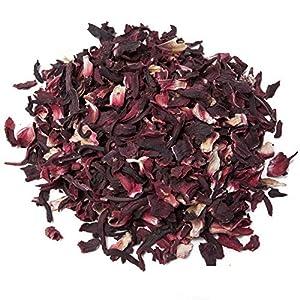 Aromas de Té - Infusión de Hibisco con Alto Poder Digestivo y Antitusivo/Infusión Hibiscus de Jaimaica para el Cuidado de la Piel, 50 gr