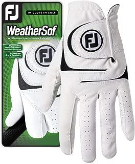 FootJoy Men's WeatherSof Golf Glove (White)