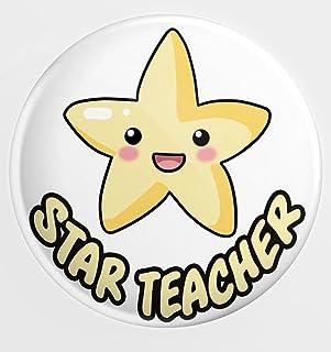 Grand badge épingle – Cadeau enseignant – Cadeau de remerciement – Étoile