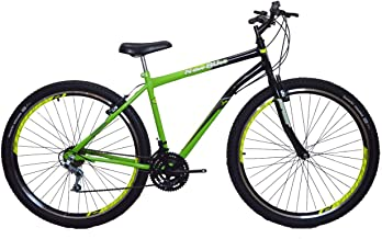 Bicicleta Aro 29 18 Marchas New Bike Preto/Verde - 19 (verde