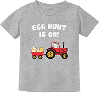 Tstars - Easter Egg Hunt Gift for Tractor Loving Kids Toddler Kids T-Shirt
