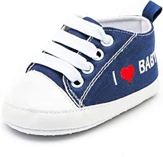 feec9920bafa7 LEvifun Chaussure Baskets Bébé Fille Garçons Chaussure Bébé Fille Premier  Pas Lettre Imprimée Souple Chic Chaussures