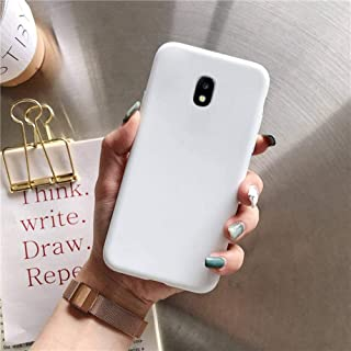 Candy color silicone phone case on for samsung galaxy j7 j6 j5 j4 j3 j2 prime pro core 2018 2017 2016 2015 tpu back cover coque,white,j2 pro 2018 j250