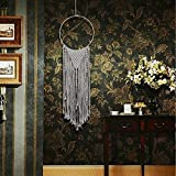 nobranded Bamboo Loop Cotton Woven Decoración para el hogar Decoración nórdica para el hogar Dormitorio Apartamento Sala de Estar Galería (30 * 118 cm)