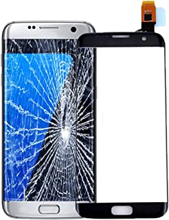 for Samsung for Galaxy S7 Edge Replacement Touch Screen Digitizer Repair Kit Outer Front Glass for G935V G935P G935F G935T G935A - Black