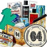 64 Geburtstag / Männer DDR Pflegebox / Geschenke 64 Geburtstag einer Mann