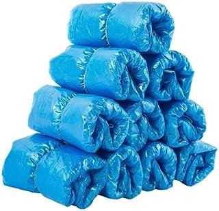Bleu BESPORTBLE 100Pcs Couvre-Chaussures Jetables Couvre-Chaussures Non Tiss/és Jetables Bleu Couvre-Chaussures Anti-D/érapant Couvre-Pieds Anti-Poussi/ère