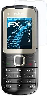 atFoliX Skärmskyddsfilm är kompatibel med Nokia C2-00 Film, ultra-klar FX Skyddsfilm (3X)