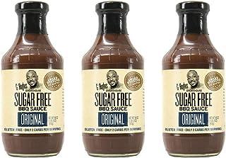 G Hughes Original Sugar Free BBQ Sauce 18 oz (3 Pack)