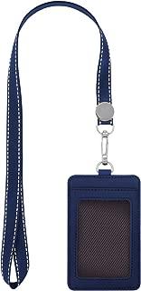 Best genuine leather badge holder Reviews