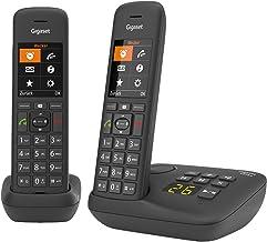 Gigaset C575A Duo, 2 Schnurlose Telefone mit Anrufbeantworter, großes Farbdisplay mit..