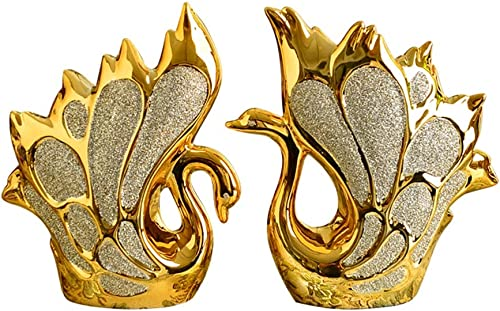 compras en linea oroen European Little Swan Swan Swan Cerámica Sala de Estar TV Vino Gabinete Porche Partición Personalidad Decoración Dormitorio Creativo Decoración del hogar  100% precio garantizado