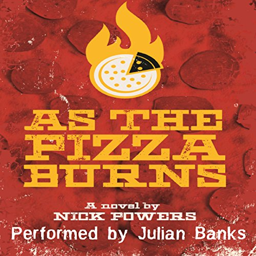 As the Pizza Burns audiobook cover art