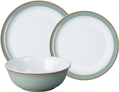 Denby Regency Green 12 pc Dinnerware Set, One size