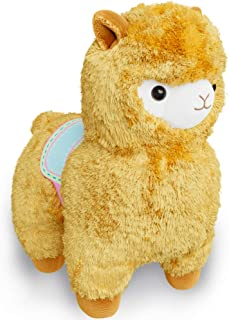 ED&TY Llama Stuffed Animal - Plush Animal Toy, Adorable & Cuddly - Perfect Friend for Your Child - Ultra-Soft - Calms & Soothes - Hypoallergenic, Cotton, Safe, Stuffed Toy Animals