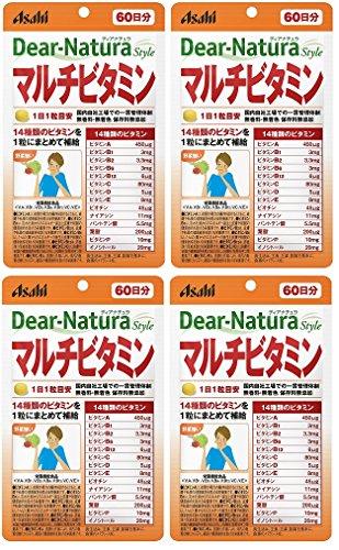 【まとめ買い】ディアナチュラマルチビタミン 60日分 60粒×4個