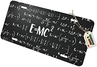 Graphics and More E=MC 2 Energy Mass Equation Albert Einstein Theory of Special Relativity Math Tow Trailer Hitch Cover Plug Insert