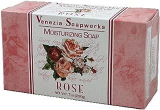 (Pack of 24) Venezia Soapworks Bar Soap Rose, Moisturizing 6.25 oz