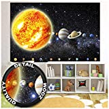 GREAT ART® XXL Poster Kinderzimmer – Sonnensystem