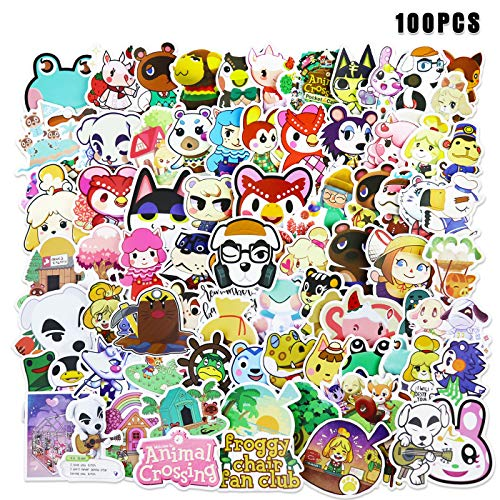 Animal Crossing Stickers Game Stickers 100 pcs