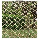 DSDD Safe Net Balkon Treppenschutz Anti-Fall Net Vintage dekorative Netz hängende Kleidung Fotowand Kinder Indoor Outdoor Treppenschutznetz Schutz Outdoor Gartenzaun Net Crawl (Größe: 3 * 4m)