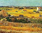 5D Diamante Pintura Por Número Kit,Póster de Vincent Van Gogh Diamond Painting,bordado punto de cruz Rhinestone imágenes arte manualidades Decoración del hogar para Salas de Estar o Habitaci 30x40cm