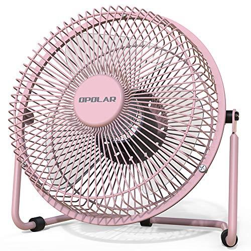 Mini Desk Fan Pink