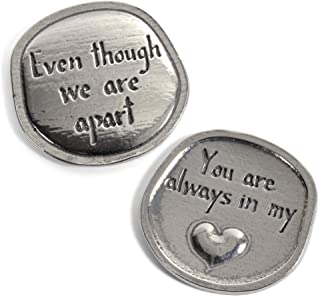 Crosby & Taylor You are Always in My Heart Pewter Sentiment Coin