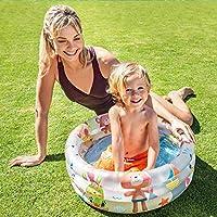 Intex Opblaasbaar kinderbadje Intex kleuren + basis 61 x 22 cm-33 L - 57106 NP, modellen en kleuren gesorteerd.