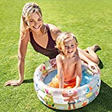 Intex 57106NP - Piscina hinchable colores con base hinchable 61 x 22 cm, 33 litros, 1...