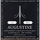 Augustine AUGBLKSET Nylon Classical Guitar Strings, Light (Limited Edition)