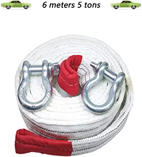 seraphicar Cuerda de Remolque Coche de Carreras Correa de Remolque Universal Correa de Remolque Parachoques Remolque Cuerdas de Remolque de Nylon de Alta Resistencia