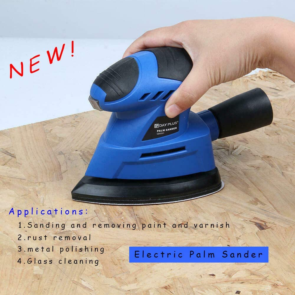 New popularity 12000 RPM Choice 130W triangle shape sander dus sanding papers 6 with