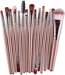 15pcs Makeup Brushes Tool Set Eye Shadow Foundation Blush brow brush lip brush Concealer Powder