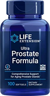 Life Extension Ultra Prostate Formula, 100 Softgels, Natural Supplement for Men