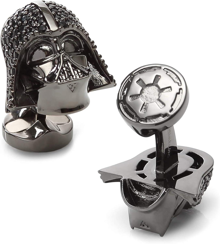 Darth Vader Crystal Helmet Cufflinks