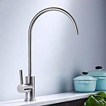 Txyang Basin Mixer Tap Bathroom Sink Tap Mixer Wash Sink Faucet 304 Stainless Steel Cold Water Bathroom Mixer Taps