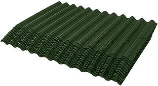 ONDURA 2354 Corrugated Asphalt Shingles (12-Pack), Green