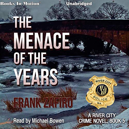 The Menace of the Years audiobook cover art