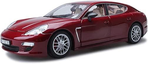 Colore : Nero WZLDP Simulazione di Lega di Modello di Auto Giocattolo per Bambini Fabbrica Originale autorizzata 1:18 Modello di Auto Porsche Panamera Modelli diecast