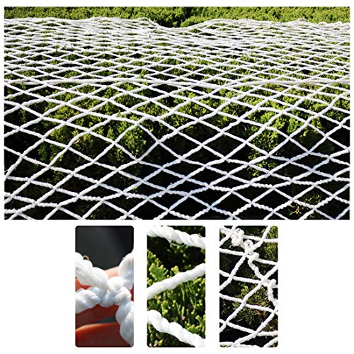 Net Fence for Garden Dogs Plant Covers Patio Netting for Pets Trellis Netting for Grow Tents Photo Wall Decoration Grid White 6mm/5cm (Size : 1x4m)