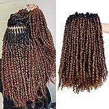 Silike Passion Twists Braiding Hair, Crochet Passion Twist(12 Roots...