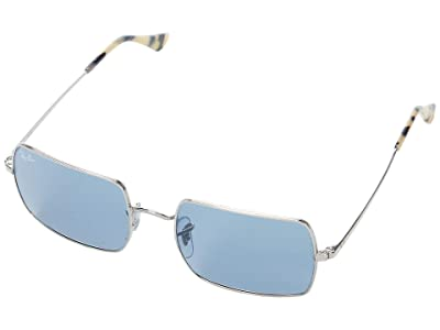 Ray-Ban 54 mm RB1969 Rectangle Metal Sunglasses