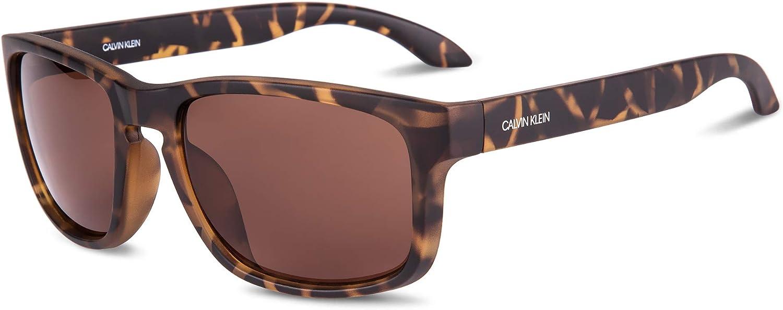 New mail order Calvin Klein Men's Selling rankings Ck19566s Rectangular Sunglasses