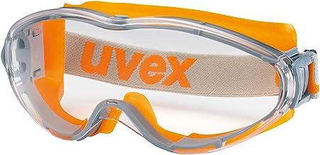 Uvex Ultrasonic Supravision Excellence Schutzbrille - Transparant/Grau-Oranje