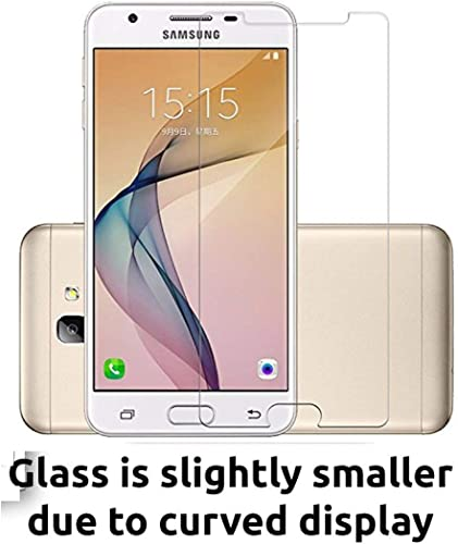 JGD Products 9H Hardness 2 5D HD Clearance Flexible Tempered Glass For Samsung Galaxy J7 Prime With Free Installation Kit