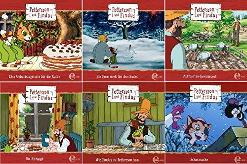 Pettersson & Findus - Original Hörspiel zur TV-Serie - CD 1-6 im Set - Deutsche Originalware [6 CDs]